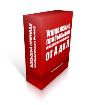 """Андрей Галкин """"Управление прибыльной юридической фирмой от А до Я"""""""